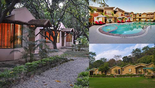 Jim Corbett Resorts, Resorts in Jim Corbett