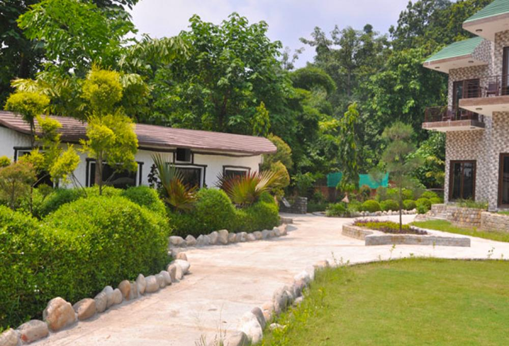 clarissa resort in Jim corbett
