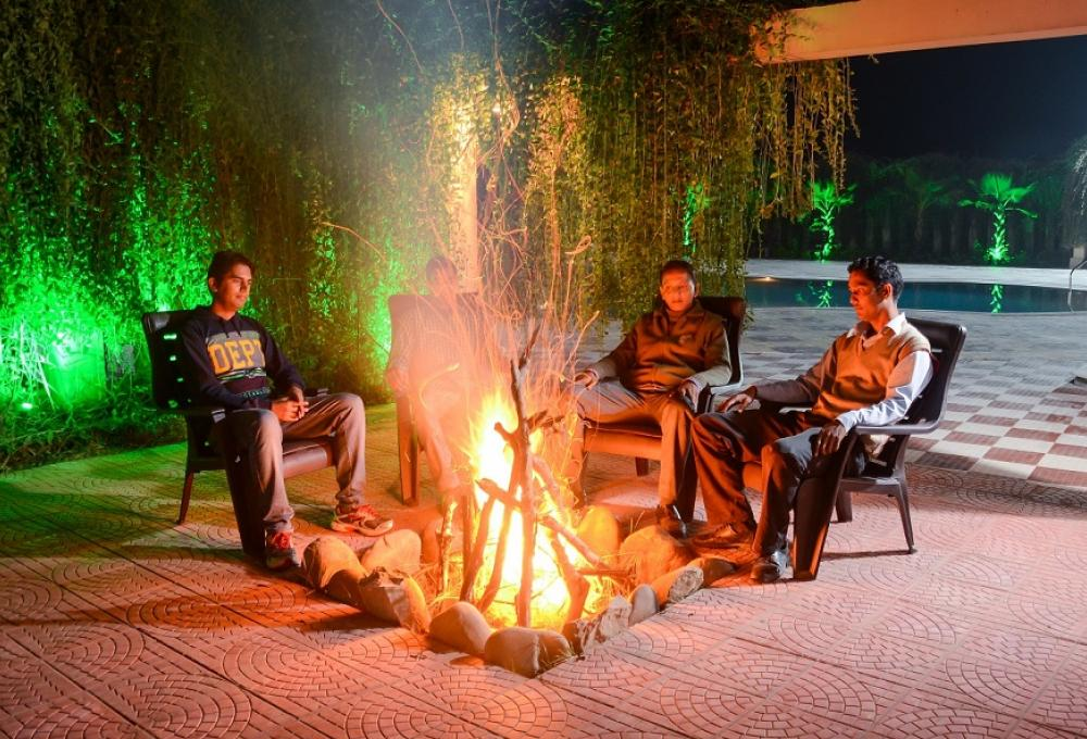 Bonfire Gajraj Trail Resort Corbett