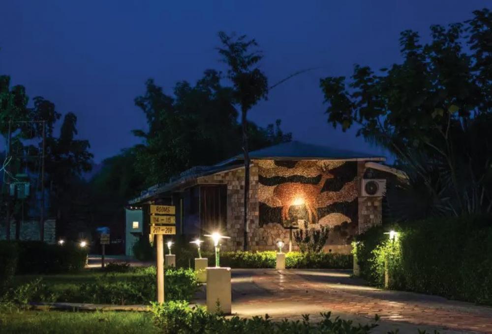Roar resort in jim corbett