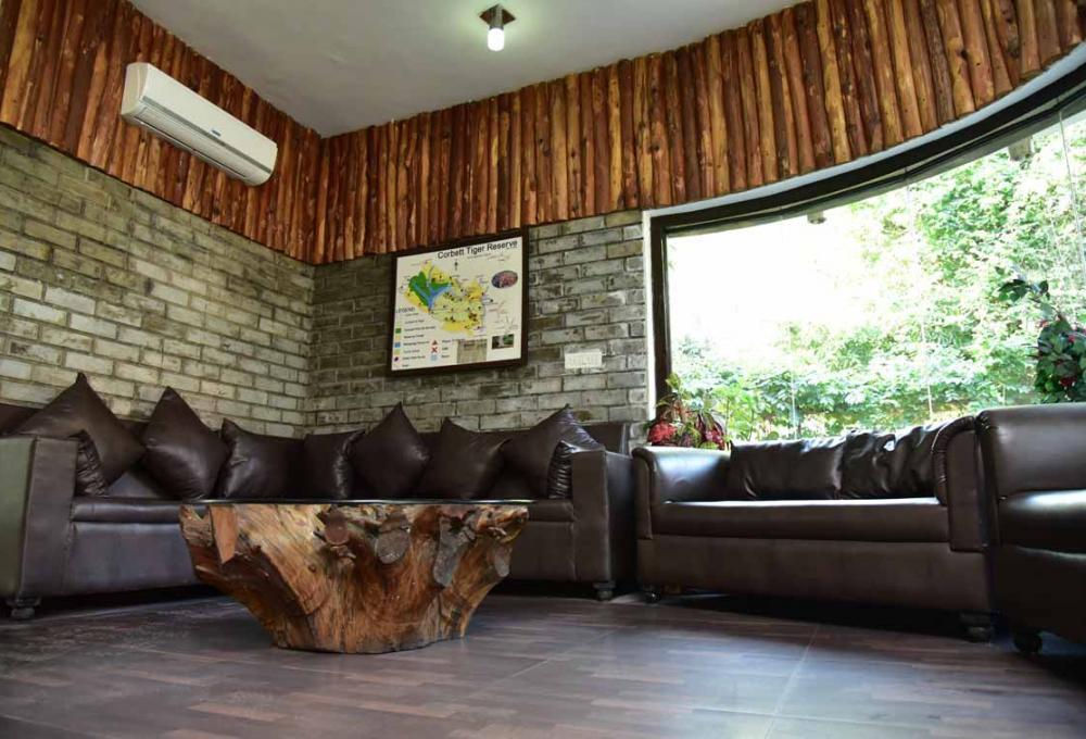 Sitting Area Jungle Leela Resort