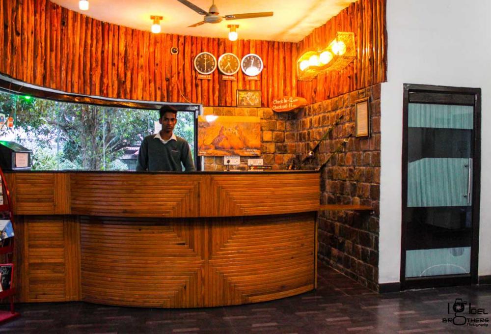 Recepton Jungle Leela Resort