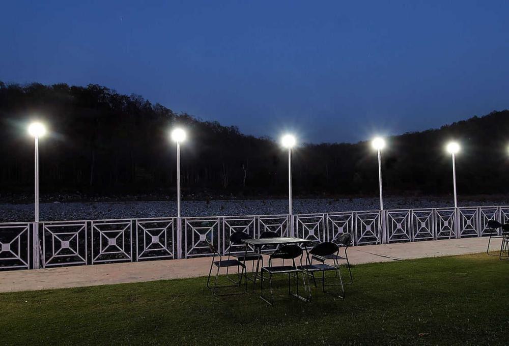 Night View Wood castle resort