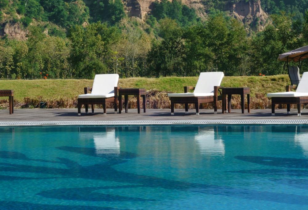Swiming Pool Namha Resort