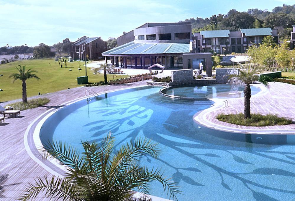 Fornt View Namha Resort
