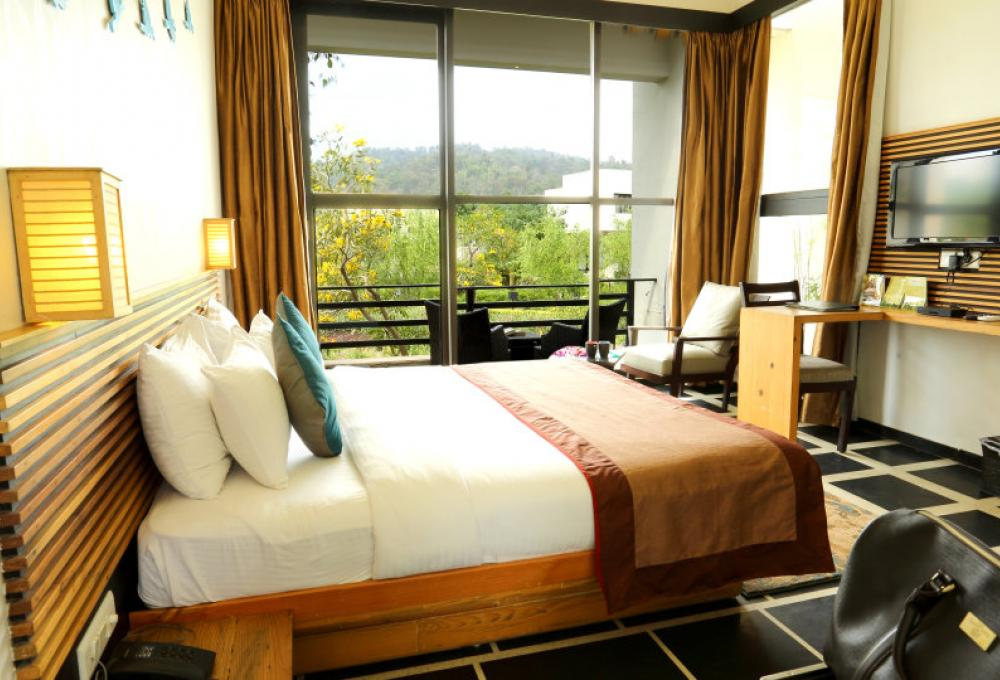The Golden Tusk Forest View Room