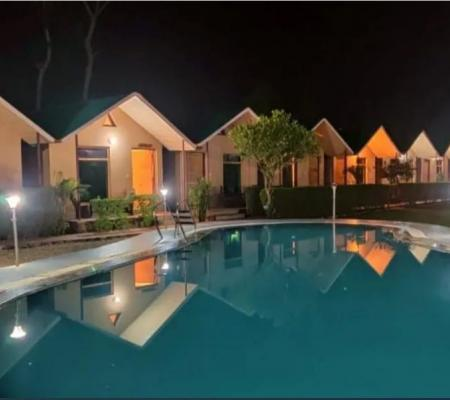 Pool Side Luxury A/C Cottages